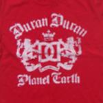 Duran Duran - Planet Earth 2011 T-shirt (cover)
