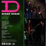 Duran Duran - Complete Fox Theatre (back cover)