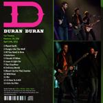 Duran Duran - Fox Theatre Pomona (back cover)