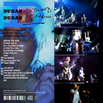 Duran Duran - All You Need Is Portland (back cover)