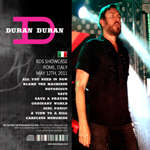 Duran Duran - RDS Showcase (back cover)