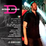 Duran Duran - RDS Showcase (back cover)