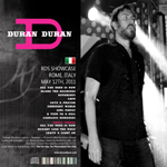Duran Duran - RDS Showcase Remastered (back cover)