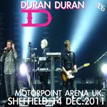 Duran Duran - Sheffield Motorpoint Arena (cover)