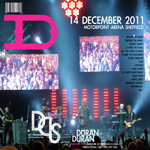 Duran Duran - Sheffield Motorpoint Arena (back cover)