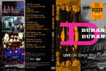 Duran Duran - Live On Stage 2011 (Vol.1) (cover)