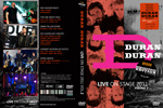 Duran Duran - Live On Stage 2011 (vol.2) Remastered (cover)
