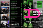 Duran Duran - Live On Stage 2011 (Vol.3) (cover)
