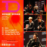 Duran Duran - Star94 Studio (back cover)