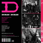 Duran Duran - Super Bowl (back cover)