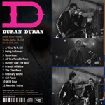 Duran Duran - SXSW Music Festival (back cover)