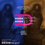 Duran Duran - C3 Late Night Party SXSW (back cover)