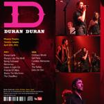 Duran Duran - Phoenix Theatre Toronto (back cover)