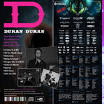 Duran Duran - Ultra Music Festival (back cover)