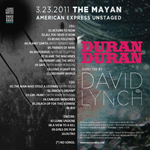 Duran Duran - Unstaged (2014 Re-edit) (back cover)