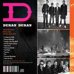 Duran Duran - Vogue Concert (back cover)