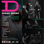 Duran Duran - Winstar World (back cover)