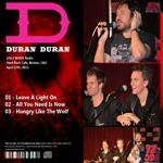 Duran Duran - Hard Rock Cafe (back cover)