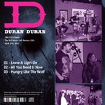 Duran Duran - The XLO Music Loft (back cover)
