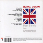 Duran Duran - Best Bands From Great Britain (back cover)