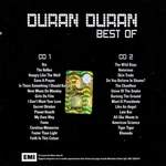 Duran Duran - Best Of (back cover)