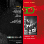 Duran Duran - Hard Rock Hotel And Casino Biloxi (back cover)