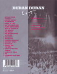 Duran Duran - Live 2011 (A Diamond In The Mind) (back cover)