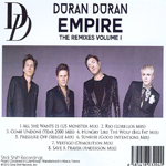 Duran Duran - Empire (The Remixes Volume 1) (back cover)