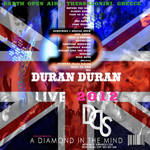 Duran Duran - Earth Open Air 2012 (back cover)