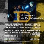 Duran Duran - A Diamond In Rio De Janeiro (back cover)