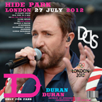 Duran Duran - Hyde Park London (back cover)