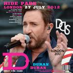 Duran Duran - Hyde Park London (back cover)