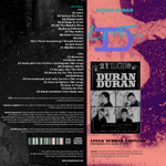 Duran Duran - Before The Rain Live (back cover)