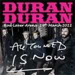 Duran Duran - Rod Laver Arena Melbourne (cover)