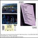 Duran Duran - Rod Laver Arena Melbourne (back cover)
