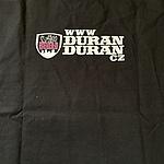Duran Duran - Prague 2012 T-Shirt (back cover)