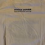 Duran Duran - VIP 2012 T-shirt (back cover)