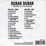 Duran Duran - Sight And Sound (back cover)