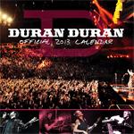 Duran Duran - Calendar 2013 (cover)