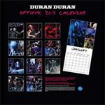 Duran Duran - Calendar 2013 (back cover)