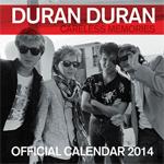 Duran Duran - Calendar 2014 (cover)