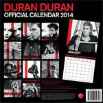 Duran Duran - Calendar 2014 (back cover)