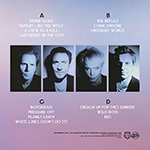 Duran Duran - Life Is Beautiful Festival 2LP (back cover)