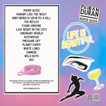 Duran Duran - Life Is Beautiful (Festival) (back cover)
