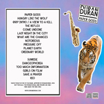 Duran Duran - Paper Gods In Berkeley (back cover)
