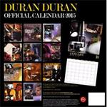 Duran Duran - Calendar 2015 (back cover)