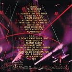 Duran Duran - Cardiff (back cover)