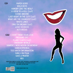Duran Duran - Danceophobia In Cardiff (back cover)