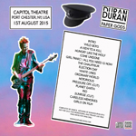 Duran Duran - Paper Gods In Port Chester (back cover)