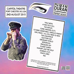 Duran Duran - Paper Gods In Port Chester (2nd Night) (back cover)